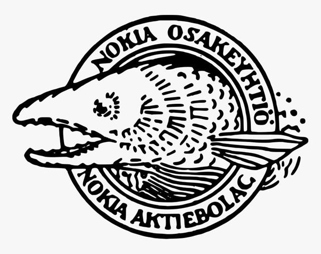 Logo thuở ban đầu của Nokia (Ảnh: Kindpng)