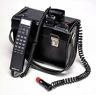 Chiếc điện thoại Mobira Senator của Nokia (Ảnh: Nokia)
