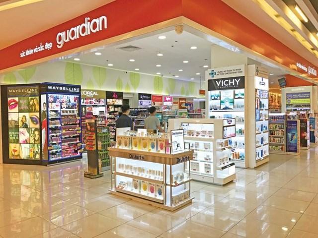 Dồn dập mở rộng chuỗi cửa hàng là chiến lược mà Guardian lựa chọn để tạo lợi thế cạnh tranh tại thị trường Việt Nam.