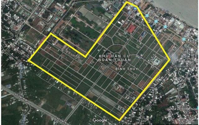 Dự án Khu dân cư Phường Bình Thủy tại trung tâm TP. Cần Thơ