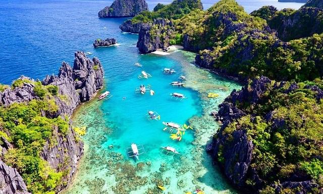 Palawan là điểm đến lý tưởng cho các du khách khi đến Philippines.