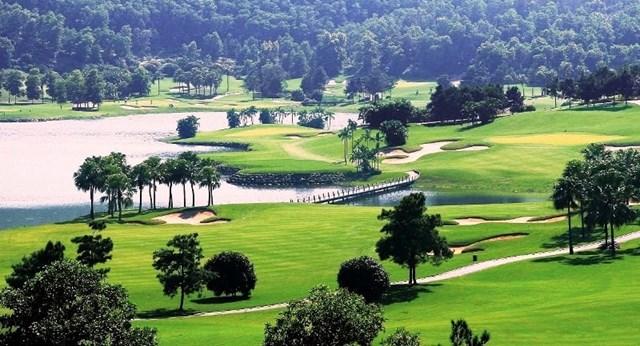 Sân golf Chí Linh.