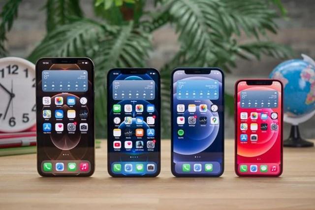 Dòng iPhone 12 sử dụng màn hình đến từ nhiều nhà cung ứng khác nhau.