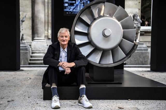 Nhà sáng chế giàu nhất nước Anh James Dyson cũng có văn phòng gia đình tại Singapore. Ảnh:AFP.