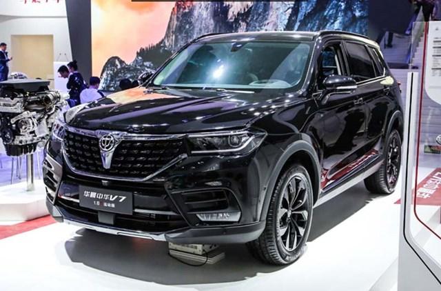 Brilliance V7 là sản phẩm của công ty con Zhonghua.