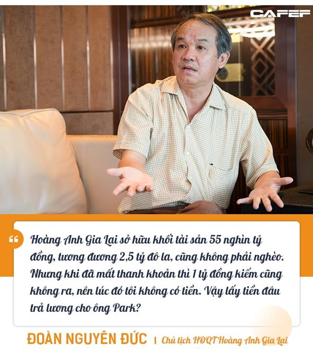 """Những """"món nợ"""" chưa bao giờ kể giữa bầu Đức, HLV Park Hang-seo, và Chủ tịch TPBank Đỗ Minh Phú - Ảnh 3"""