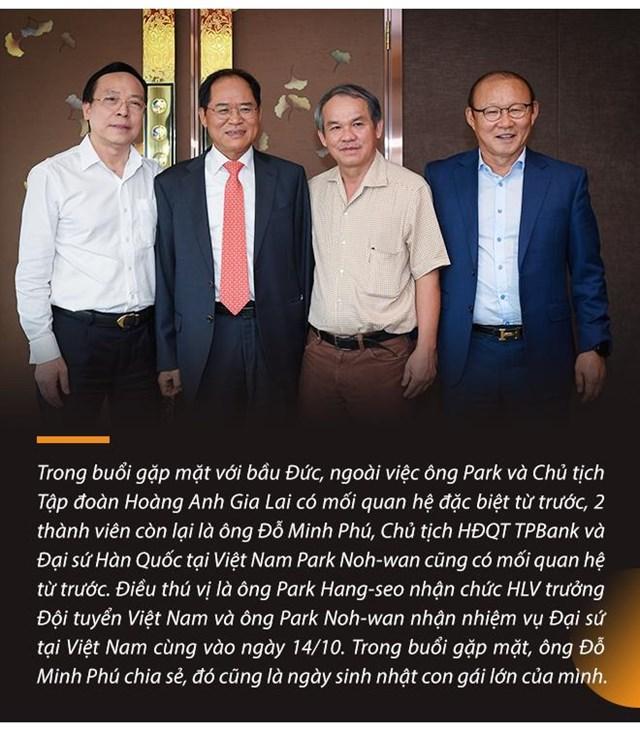 """Những """"món nợ"""" chưa bao giờ kể giữa bầu Đức, HLV Park Hang-seo, và Chủ tịch TPBank Đỗ Minh Phú - Ảnh 10"""