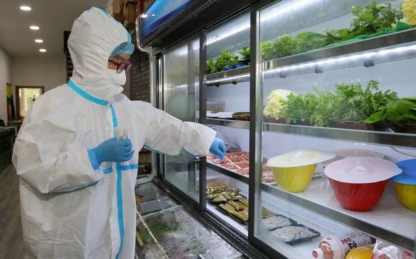 Thực phẩm đông lạnh được kiểm tra tại nước ngoài