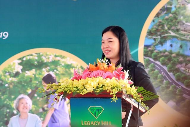 Bà Nguyễn Thị Thanh Hương, Chủ tịch HĐQT An Thịnh Group.