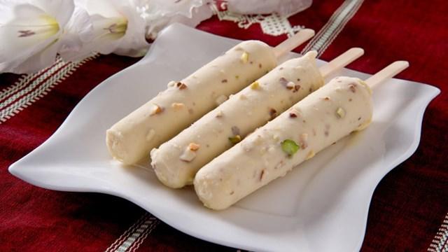 Kulfi được xem như món kem truyền thống của Ấn Độ. Ảnh:Shutterstock