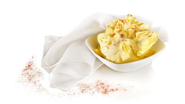 Món kem được làm từ một trong những loại gia vị đắt nhất thế giới. Ảnh:Getty Images