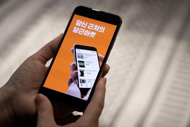 Với mức định giá 2,7 tỷ USD, startup đứng sau ứng dụng Karrot đã trở thành kỳ lân mới nhất của Hàn Quốc. Ảnh: Bloomberg