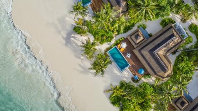 """Pullman Maldives Maamutaa cung cấp gói """"Làm việc ở thiên đường"""" kéo dài 1 tháng. Ảnh:Pullman Maldives Maamutaa"""