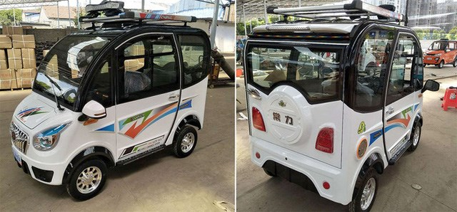 Vừa qua, mẫu xe điện của công ty Changli, Trung Quốc, được thiết kế nhỏ gọn với trọng lượng 323kg, tải công suất ở mức 300kg đặc biệt gây chú ý. Mặc dù là phiên bản giá rẻ nhưng nhà sản xuất vẫn trang bị đầy đủ các tiện nghi radio và phát nhạc MP3 từ USB, 2 hàng ghế ngồi khá thoải mái, camera lùi cho chiếc xe.