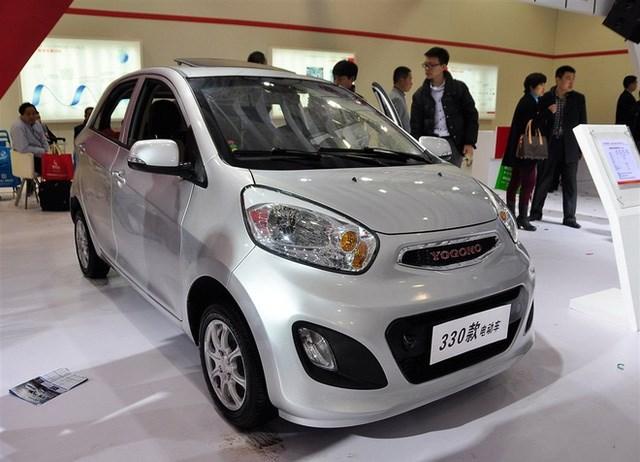Chiếc 330 là một bản sao hoàn chỉnh của Kia Morning ở ngoại thất, được chế tạo bởi nhà sản xuất Yogomo tại Trung Quốc. Đây là mẫu xe điện với 2 phiên bản động cơ có công suất 7,5 kW hoặc 13 kW, lấy nguồn năng lượng từ ắc quy chì hoặc khối pin lithium-ion. Phiên bản cao cấp nhất của xe có thể đạt tốc độ 60 km/h và di chuyển được 160 km mỗi lần sạc điện.