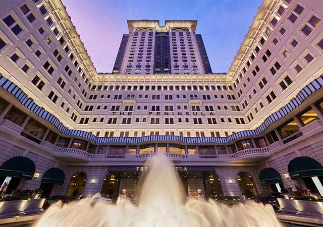 Khách sạn Peninsula thuộc chuỗi khách sạn cùng tên thuộc sở hữu của gia tộcKadoorie