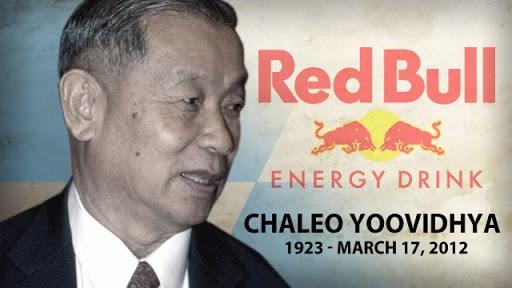 Phần lớn tài sản của gia đình Yoovidhya đều nhờ thành công của Red Bull