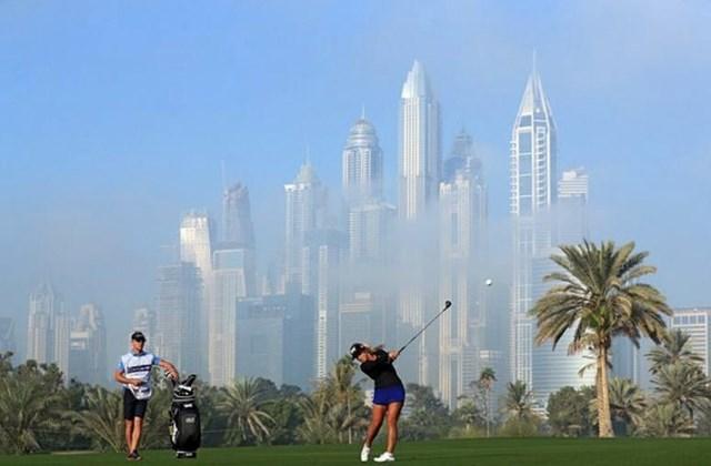 Một trong những kỷ niệm đáng nhớ nhất của Pezzola là được chơi golf ở cạnh những tòa nhà cao nhất thế giới tạiDubai và nhận giải thưởng Omega Ladies Masters.