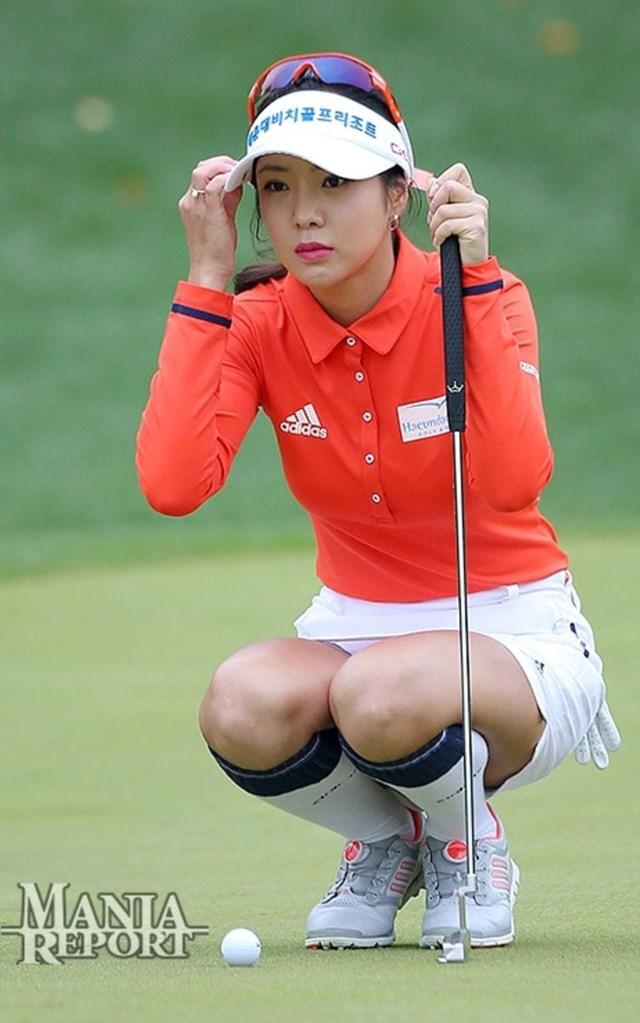 """Thành tích tốt nhất của """"bóng hồng làng golf"""" tại một sự kiện LPGA Major là về vị trí 64 trong giải Mỹ mở rộng năm 2011."""