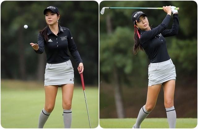 """Phải đến năm 2015, nữ golfer mới lấy lại được phong độ sau 2 năm không gặt hái được thành công. Dẫu không thực sự nổi bật khi thi đấu,cô vẫn được ví như """"thánh nữ golf"""" khi thu hút sự chú ý của giới truyền thông và các fan nhờ ngoại hình xinh đẹp cùng body quyến rũ."""
