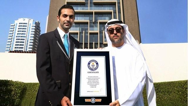 Chính thiết kế độc đáo của Maze Tower đã giúp tòa tháp được kỷ lục Guinness thế giới công nhận là mê cung thẳng đứng lớn nhất thế giới.