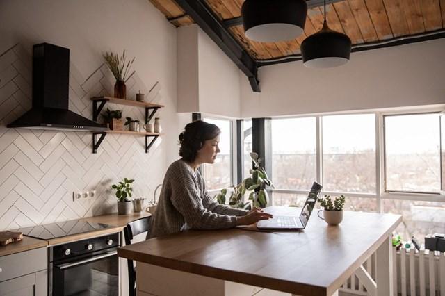 Căn hộ kết hợp văn phòng trở thành xu hướng mới.