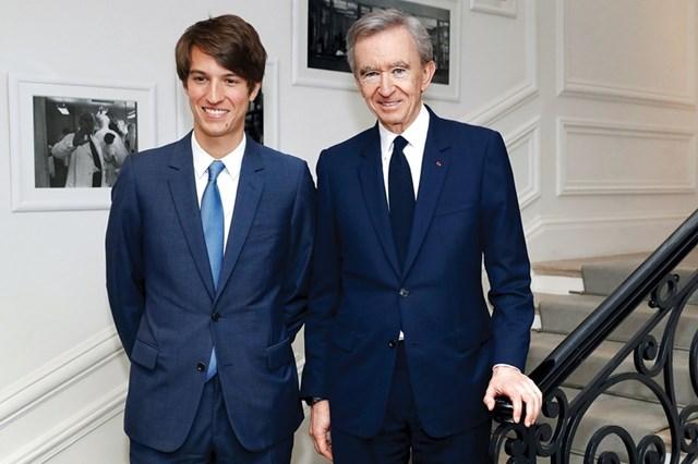 Alexandre Arnault được cha tin tưởnggiao quyền tại Tiffany.