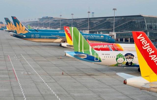 """Cục Hàng không Việt Nam đề xuất phân nhóm """"xanh, vàng, đỏ"""" để mở lại đường bay nội địa - Ảnh 1"""