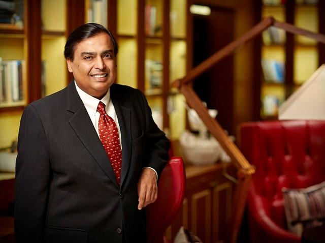 Tỷ phú giàu nhất châu Á - ông Ambani vừa ghi nhận khối tài sản ròng vượt ngưỡng 100 tỷ USD.