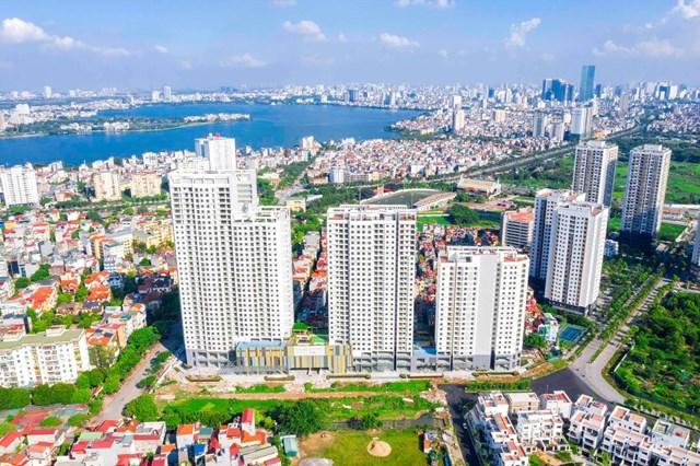 Thị trường căn hộ Hà Nội quý III giảm cả nguồn cung và lượng bán