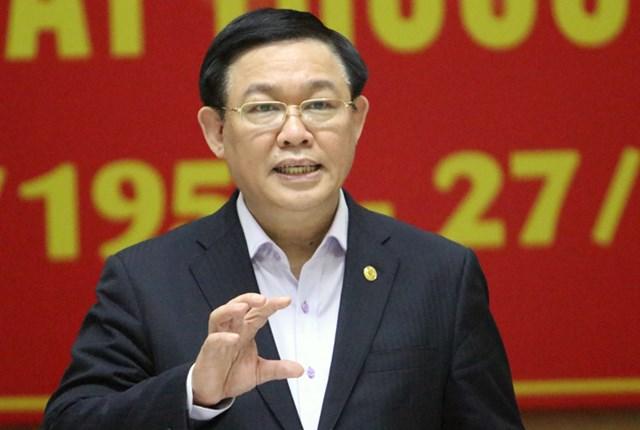 Ông Vương Đình Huệ tái đắc cửBí thư Thành ủy Hà Nội.