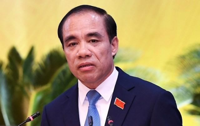 Bí thư Tỉnh ủy Tuyên Quang Chẩu Văn Lâm. Ảnh: PV