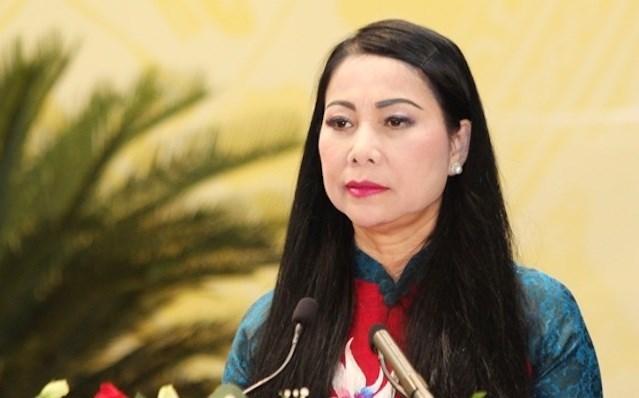 Bà Hoàng Thị Thúy Lan tái cử Bí thư Tỉnh ủy Vĩnh Phúc nhiệm kỳ 2020 - 2025. Ảnh: PV