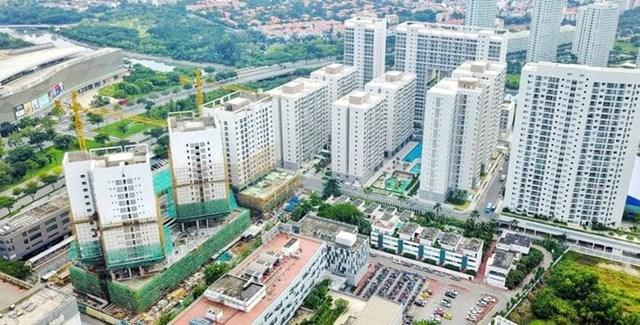 Nguồn cung căn hộ tại thị trường TP HCM giảm mạnh do ảnh hưởng của dịch Covid-19.