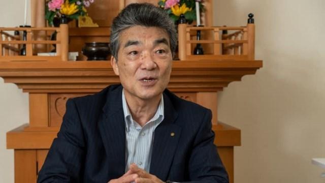 Kenichi Tone, chủ tịch của Kongo Gumi (Ảnh: Kyosuke Ogame)