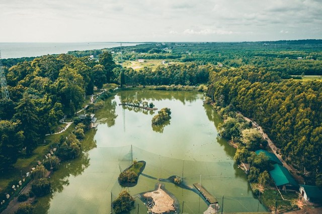 Công viên thực vật Shekvetili của tỷ phú Bidzina Ivanishvili