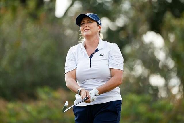Kerr đang đứng trước cơ hội trở thành golfer kiếm nhiều tiền thưởng nhất ở LPGA. Ảnh:GW.