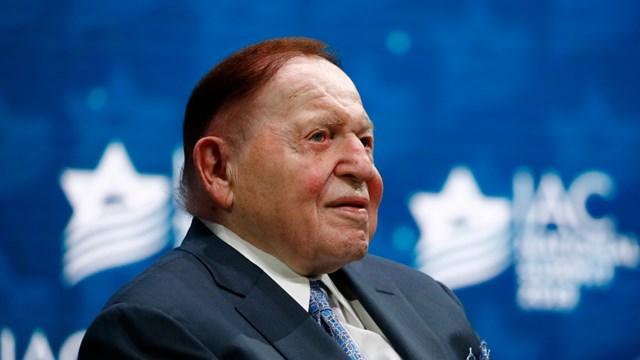 Ông chủ đế chế casinoLas Vegas Sands đãqua đờihôm 11/1.