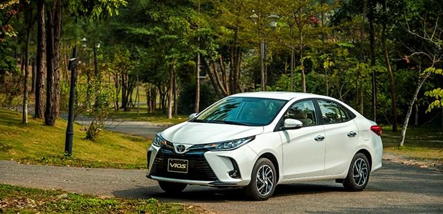 Vios mới có giá từ 478 triệu đến 638 triệu đồng. Ảnh:Toyota