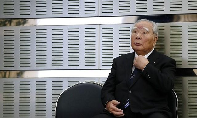 Ông Osamu Suzuki giữ chức chủ tịch Suzuki trong hai thập kỷ. Ảnh:Bloomberg.
