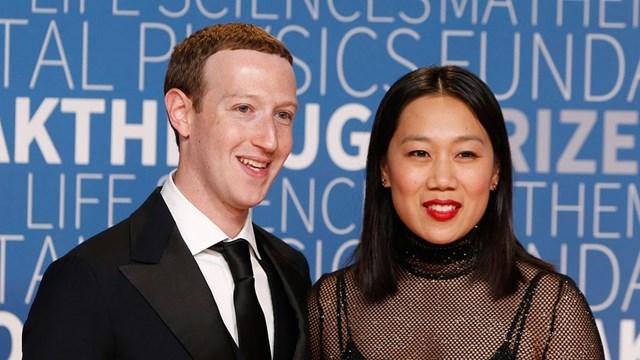Vợ ông chủ Facebook là bác sĩ nhi khoa.(Ảnh:Lachlan Cunningham)