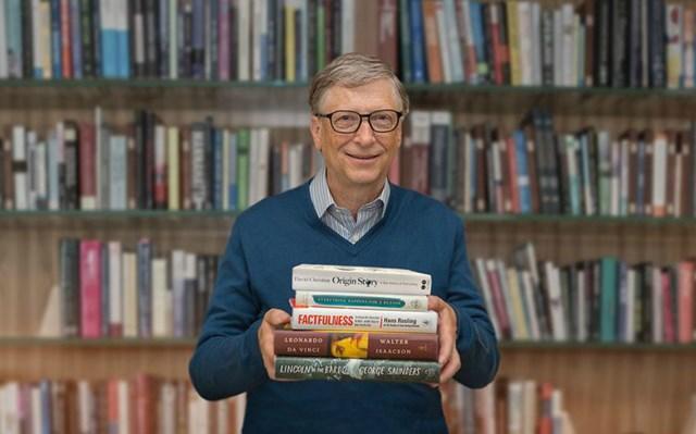 Đọc sách là thói quen của nhiều tỷ phú thế giới.