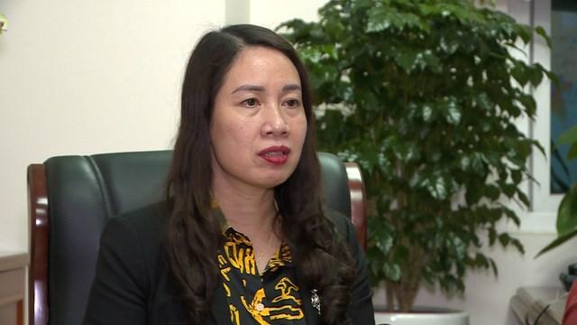 Bà Nguyễn Thị Lan Anh - Vụ trưởng Vụ quản lý thuế doanh nghiệp nhỏ và vừa, hộ kinh doanh và cá nhân - Tổng cục Thuế.
