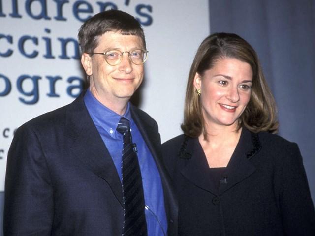 Ông Bill và bà Melinda lần đầu gặp nhau vào năm 1987. Ảnh: GETTY.