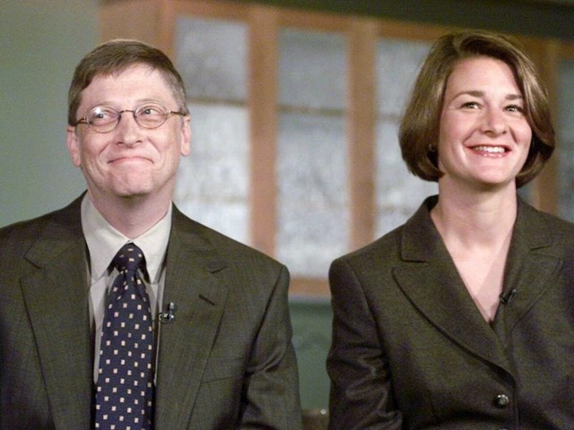 Bill Gates và Melinda chính thức thành lập Quỹ Bill & Melinda Gates vào năm 2000. Ảnh: Getty