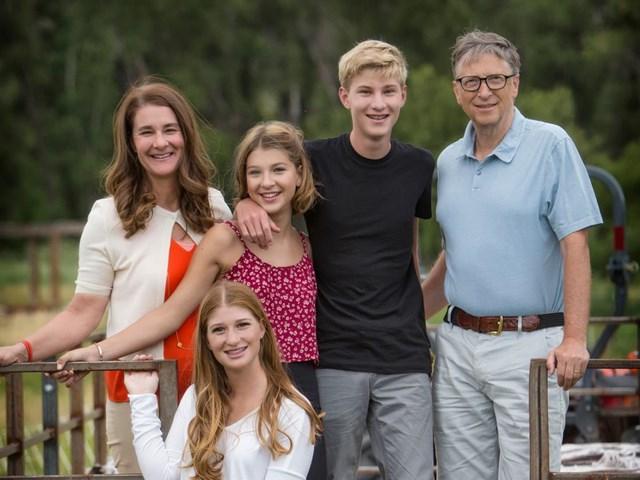 Gia đình của Bill Gates và Melinda từng được cả thế giới ngưỡng mộ với hình mẫu hoàn hảo. Ảnh: Getty