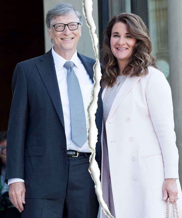 Sau 27 năm bên nhau, Bill Gates và vợ đã quyết định không cùng đồng hành trong cuộc sống riêng tư nữa. Ảnh: usmagazine.