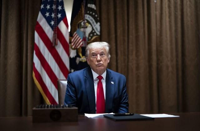 Tổng thống Trump ký sắc lệnh cấm TikTok và WeChat trong vòng 45 ngày. (Ảnh: Bloomberg)
