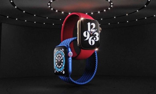 Apple Watch Series 6 có phiên bản màu đỏ mới.