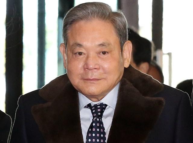 Người xây dựng đế chế Samsung Electronics, Lee Kun-hee đã qua đời ở tuổi 78 tại Seoul, Hàn Quốc. (Ảnh: Koreadaily)